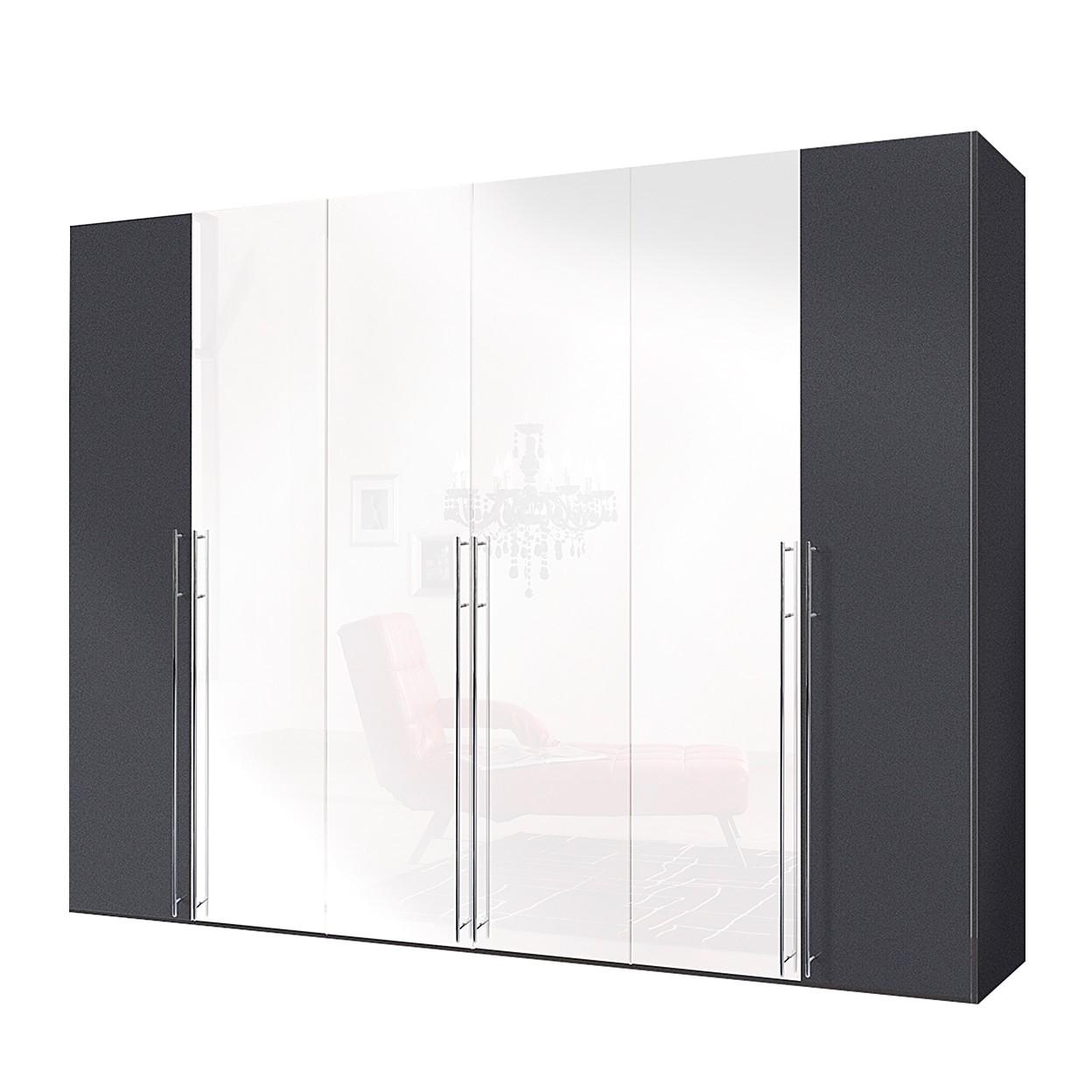 goedkoop Draaideurkast Brooklyn IX 300cm 6 deurs 236cm Express Mobel