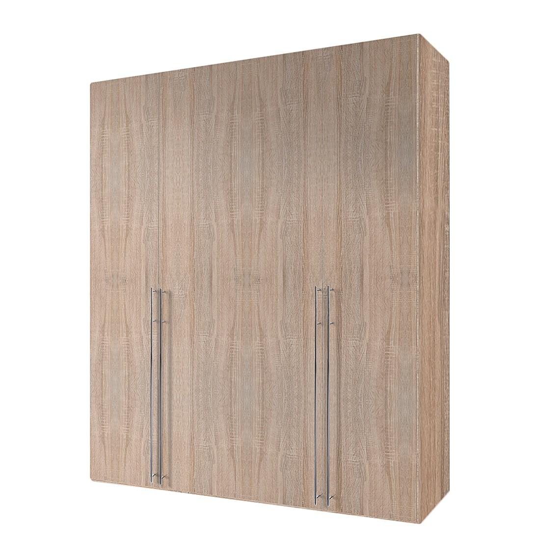 goedkoop Draaideurkast Brooklyn IV eikenhouten look 200cm 4 deurs 236cm Express Mobel