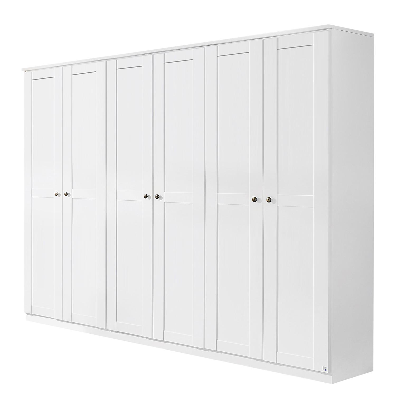 goedkoop Draaideurkast Rosenheim alpinewit 271cm 6 deurs Rauch Packs