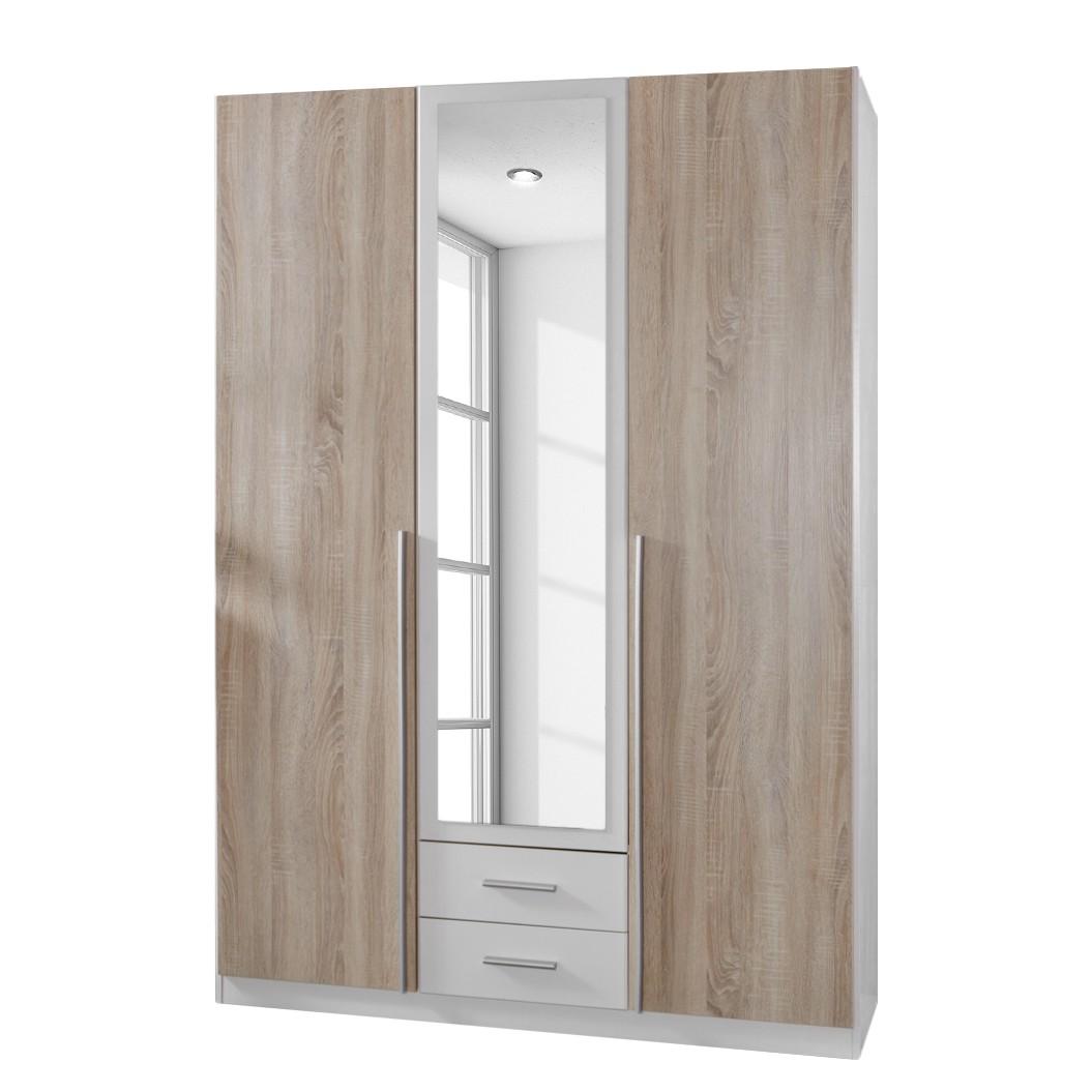 goedkoop Draaideurkast Nuevo 135cm 3 deurs Wimex