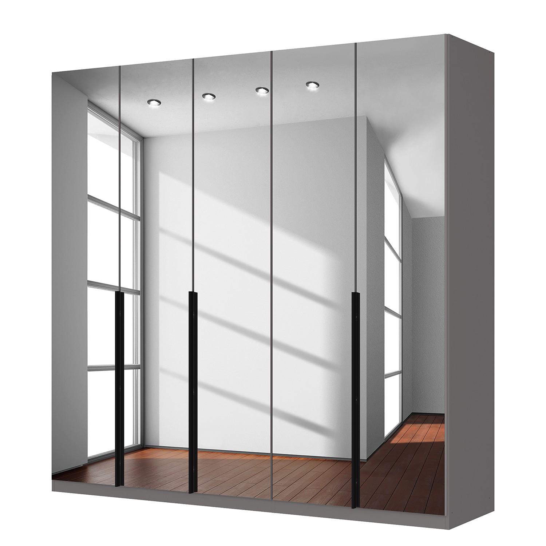 goedkoop Draaideurkast Skøp donker spiegelglas 225cm 5 deurs 222cm Comfort Skop
