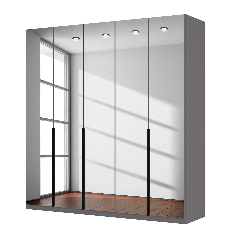 goedkoop Draaideurkast Skøp donker spiegelglas 225cm 5 deurs 236cm Premium Skop