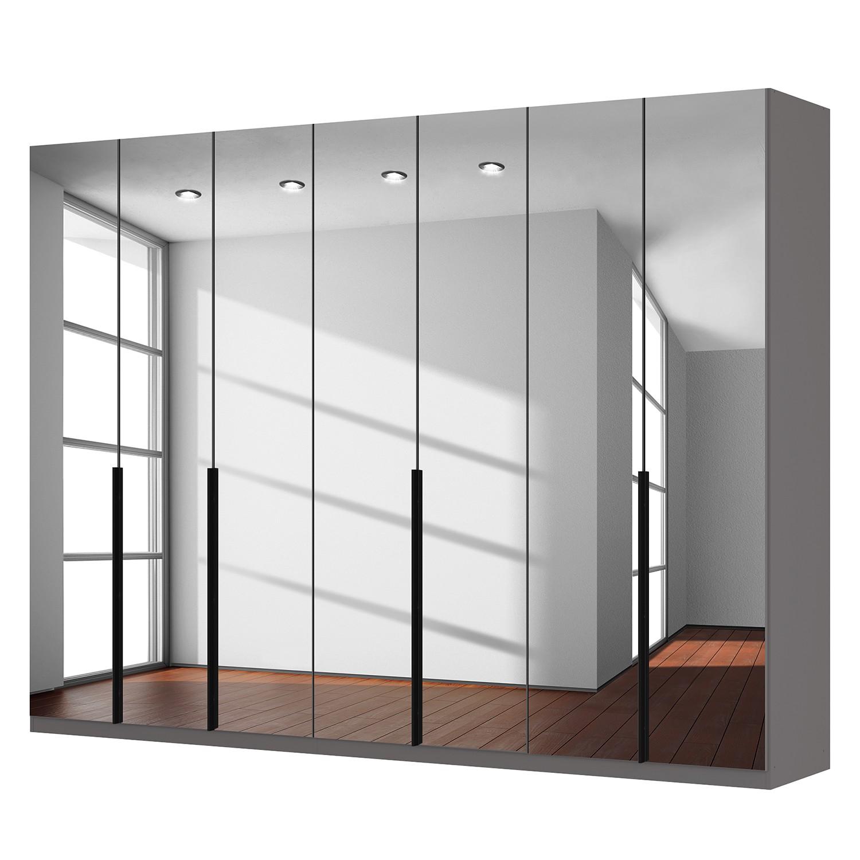 goedkoop Draaideurkast Skøp donker spiegelglas 315cm 7 deurs 236cm Premium Skop