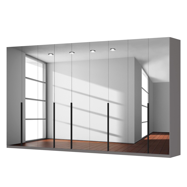 goedkoop Draaideurkast Skøp donker spiegelglas 405cm 9 deurs 236cm Comfort Skop