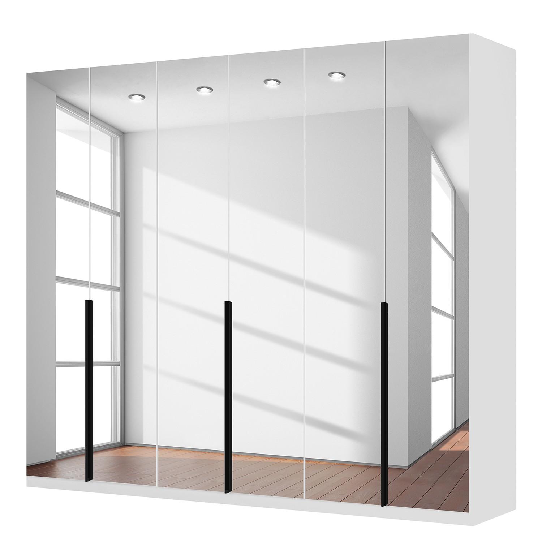 goedkoop Draaideurkast Skøp I alpinewit kristalspiegel 270cm 6 deurs 236cm Premium Skop
