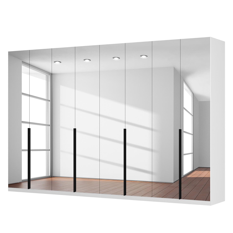 goedkoop Draaideurkast Skøp I alpinewit kristalspiegel 360cm 8 deurs 236cm Premium Skop