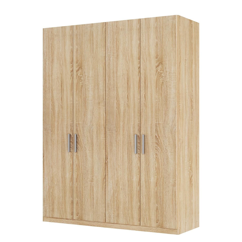 goedkoop Draaideurkast Skøp I Sonoma eikenhouten look 181cm 4 deurs 236cm Classic Skop