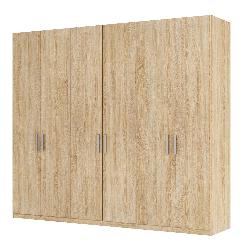 goedkoop Draaideurkast Skøp I Sonoma eikenhouten look 270cm 6 deurs 236cm Comfort Skop