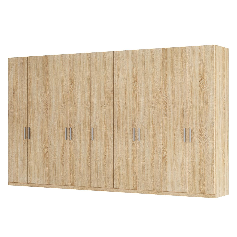 goedkoop Draaideurkast Skøp I Sonoma eikenhouten look 405cm 9 deurs 236cm Basic Skop