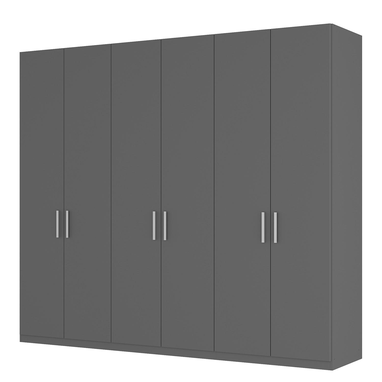goedkoop Draaideurkast Skøp I grafietkleurig 270cm 6 deurs 236cm Basic Skop