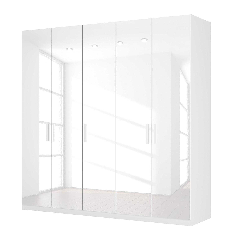 goedkoop Draaideurkast Skøp I hoogglans wit 225cm 5 deurs 222cm Premium Skop