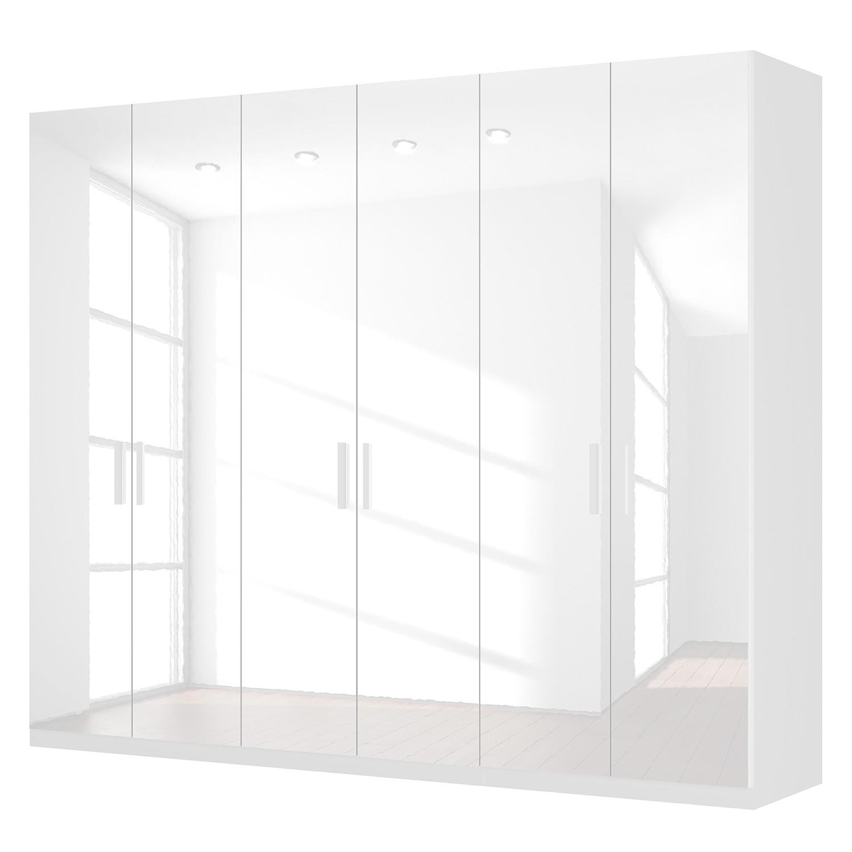 goedkoop Draaideurkast Skøp I hoogglans wit 270cm 6 deurs 222cm Premium Skop