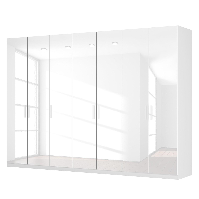 goedkoop Draaideurkast Skøp I hoogglans wit 315cm 7 deurs 222cm Basic Skop