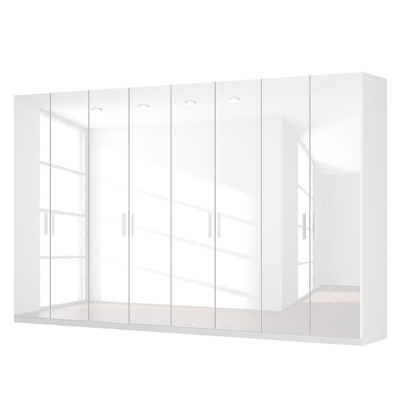 goedkoop Draaideurkast Skøp I hoogglans wit 360cm 8 deurs 222cm Classic Skop