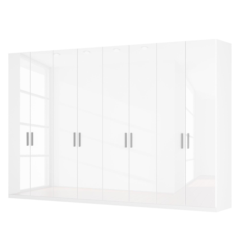 goedkoop Draaideurkast Skøp I hoogglans wit 360cm 8 deurs 236cm Classic Skop