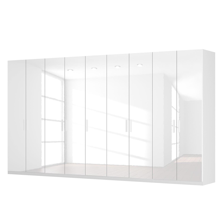 goedkoop Draaideurkast Skøp I hoogglans wit 405cm 9 deurs 222cm Comfort Skop