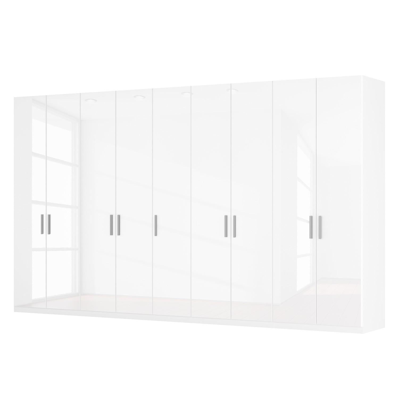 goedkoop Draaideurkast Skøp I hoogglans wit 405cm 9 deurs 236cm Premium Skop