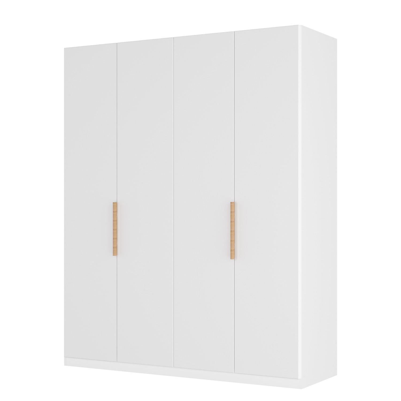 goedkoop Draaideurkast Skøp I wit matglas 181cm 4 deurs 236cm Basic Skop