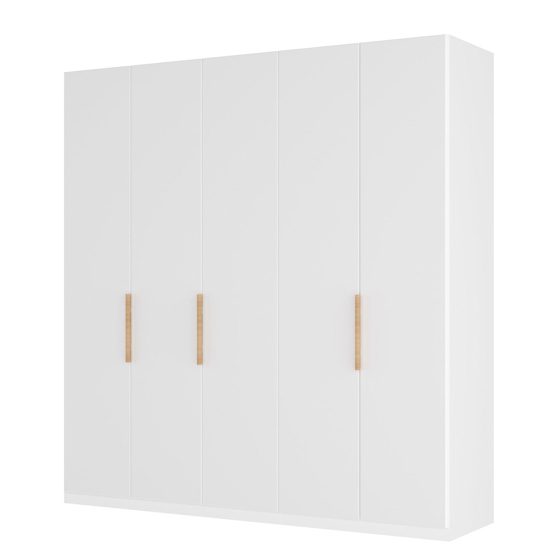 goedkoop Draaideurkast Skøp I wit matglas 225cm 5 deurs 222cm Basic Skop