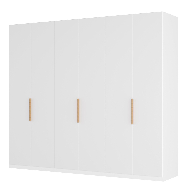 goedkoop Draaideurkast Skøp I wit matglas 270cm 6 deurs 222cm Premium Skop