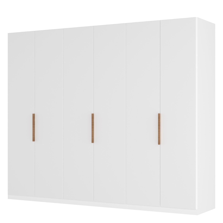 goedkoop Draaideurkast Skøp I wit matglas 270cm 6 deurs 236cm Comfort Skop