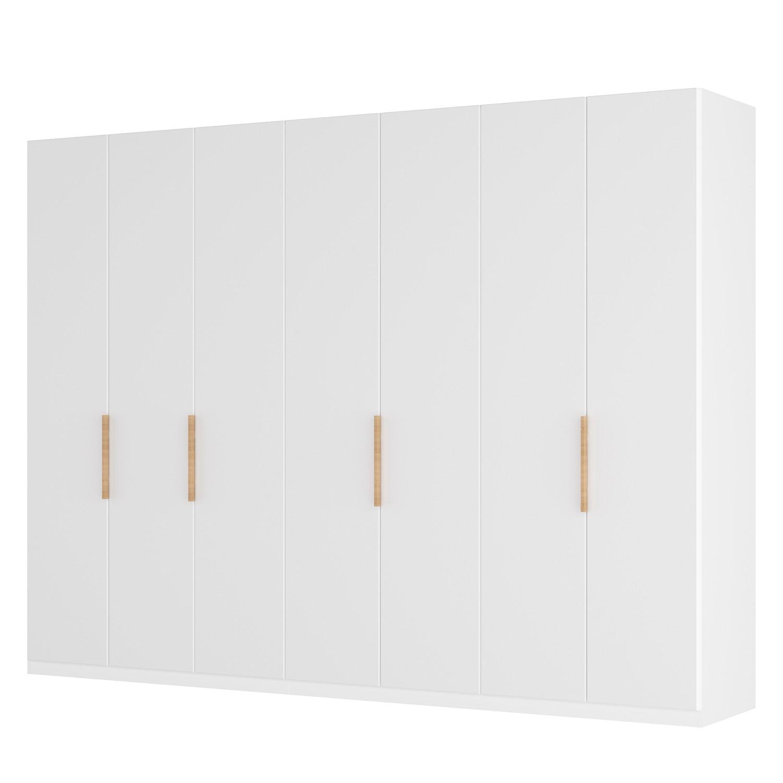 goedkoop Draaideurkast Skøp I wit matglas 315cm 7 deurs 222cm Comfort Skop