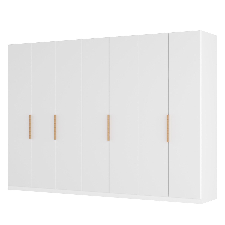 goedkoop Draaideurkast Skøp I wit matglas 315cm 7 deurs 236cm Basic Skop