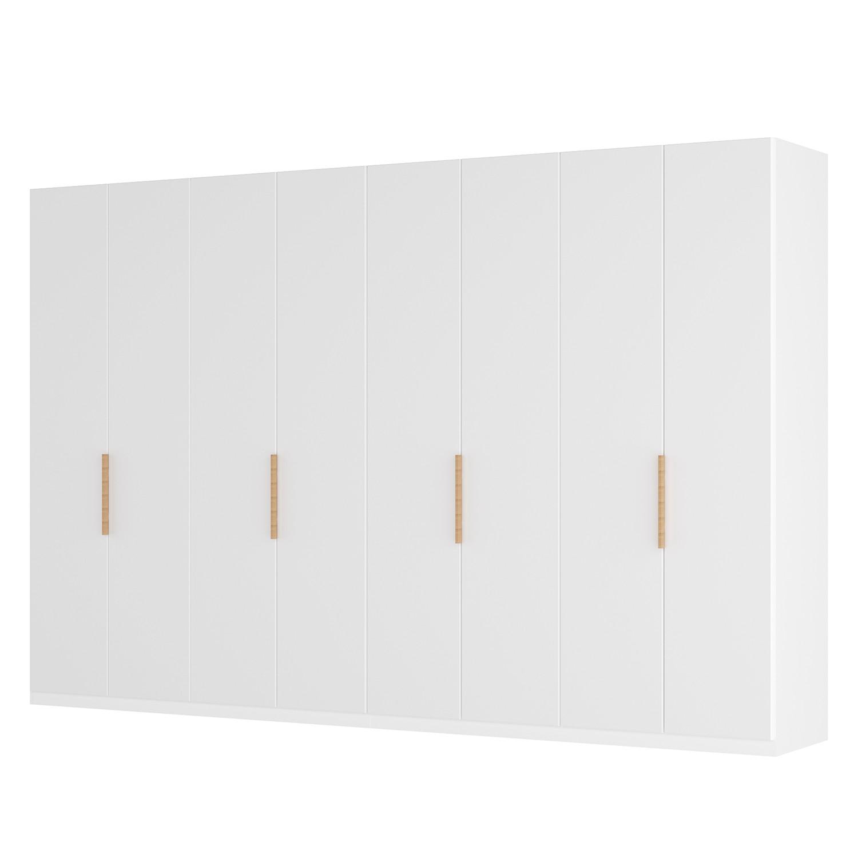 goedkoop Draaideurkast Skøp I wit matglas 360cm 8 deurs 222cm Basic Skop
