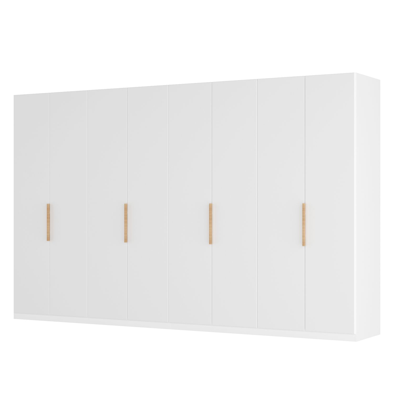 goedkoop Draaideurkast Skøp I wit matglas 360cm 8 deurs 236cm Basic Skop