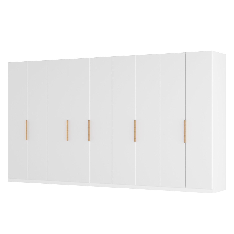 goedkoop Draaideurkast Skøp I wit matglas 405cm 9 deurs 222cm Premium Skop