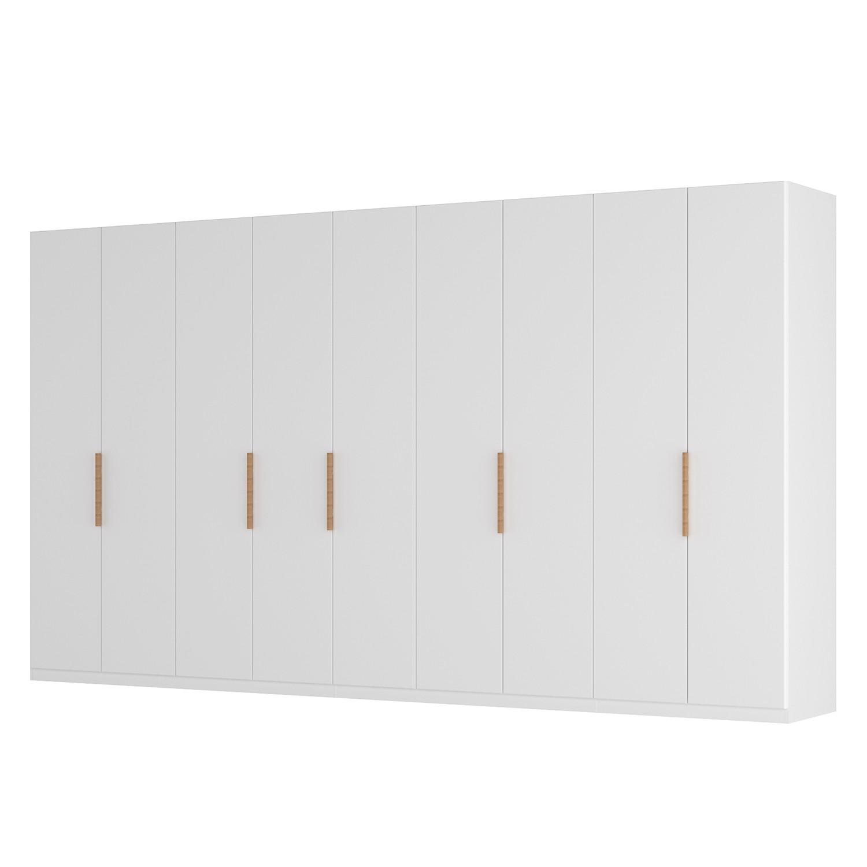 goedkoop Draaideurkast Skøp I wit matglas 405cm 9 deurs 236cm Comfort Skop