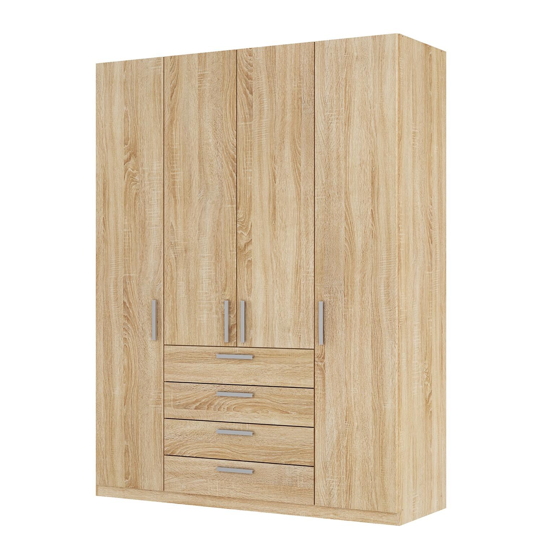 goedkoop Draaideurkast Skøp II Sonoma eikenhouten look 181cm 4 deurs 236cm Premium Skop