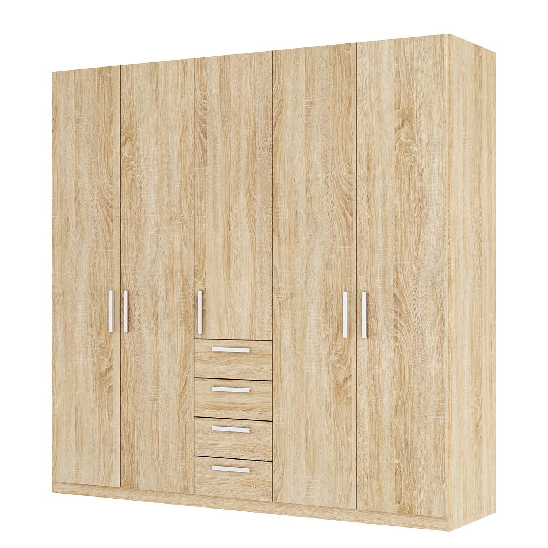 goedkoop Draaideurkast Skøp II Sonoma eikenhouten look 225cm 5 deurs 222cm Premium Skop