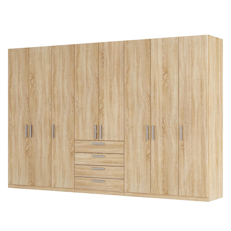 goedkoop Draaideurkast Skøp II Sonoma eikenhouten look 360cm 8 deurs 236cm Classic Skop