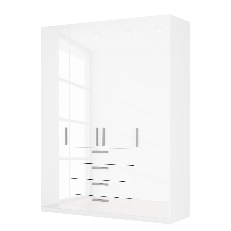 goedkoop Draaideurkast Skøp II hoogglans wit 181cm 4 deurs 236cm Basic Skop