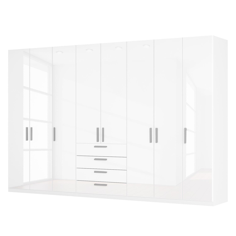 goedkoop Draaideurkast Skøp II hoogglans wit 360cm 8 deurs 236cm Comfort Skop