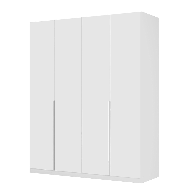 goedkoop Draaideurkast Skøp II wit matglas 181cm 4 deurs 222cm Comfort Skop