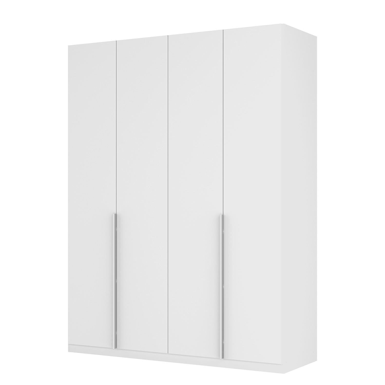 goedkoop Draaideurkast Skøp II wit matglas 181cm 4 deurs 236cm Comfort Skop