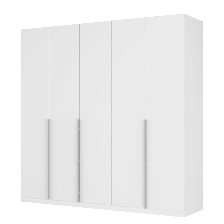 goedkoop Draaideurkast Skøp II wit matglas 225cm 5 deurs 222cm Comfort Skop