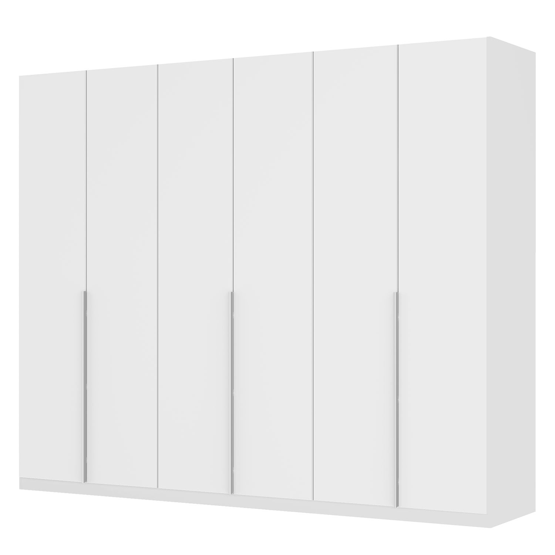 goedkoop Draaideurkast Skøp II wit matglas 270cm 6 deurs 222cm Comfort Skop