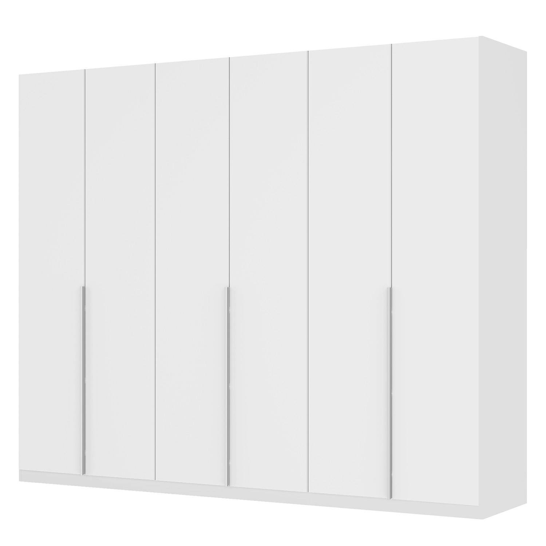 goedkoop Draaideurkast Skøp II wit matglas 270cm 6 deurs 222cm Premium Skop