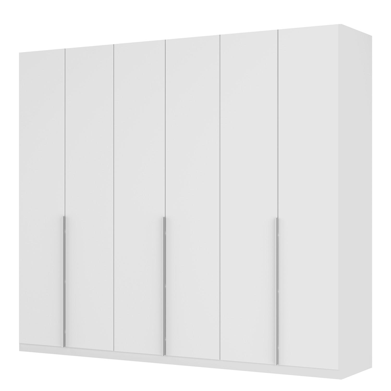 goedkoop Draaideurkast Skøp II wit matglas 270cm 6 deurs 236cm Basic Skop