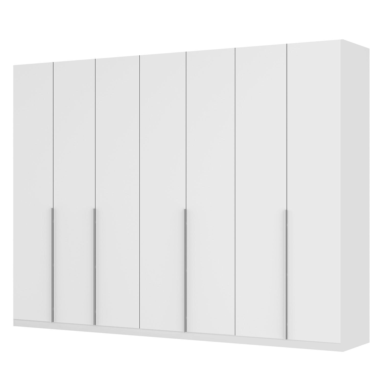 goedkoop Draaideurkast Skøp II wit matglas 315cm 7 deurs 236cm Basic Skop