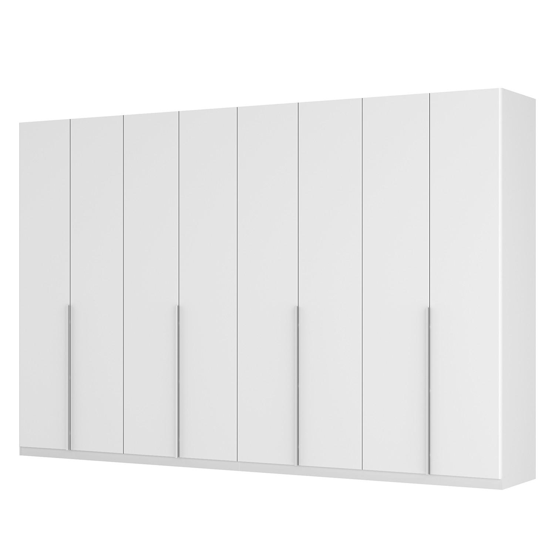 goedkoop Draaideurkast Skøp II wit matglas 360cm 8 deurs 236cm Comfort Skop
