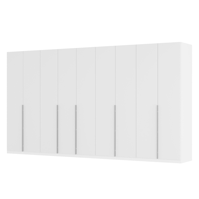 goedkoop Draaideurkast Skøp II wit matglas 405cm 9 deurs 222cm Classic Skop