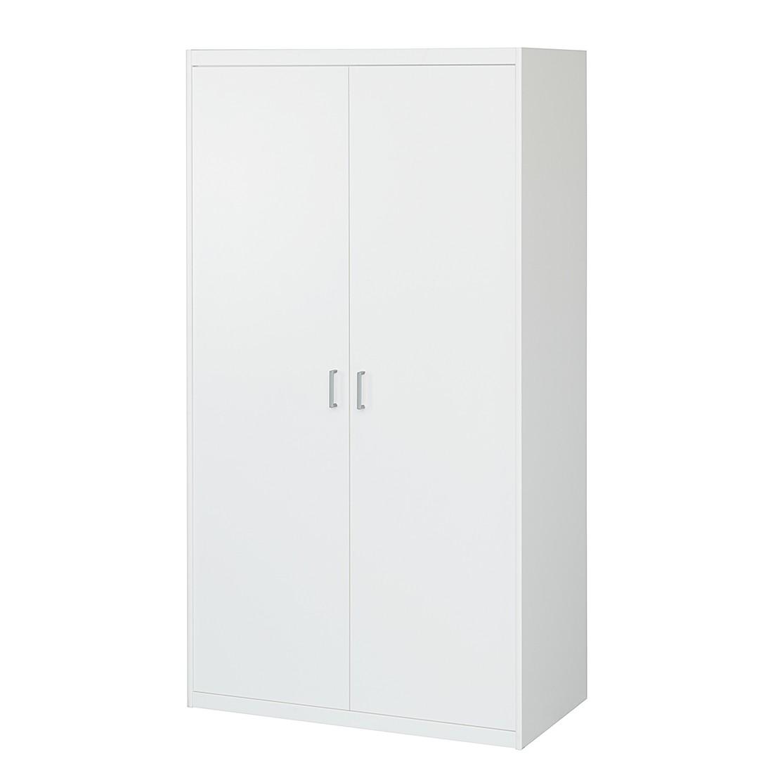 Armoire à portes battantes Soft Plus II - Blanc crème, Cs Schmal