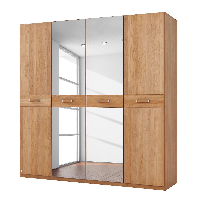 goedkoop Deels massieve draaideurkast Valerie elzenhout 189cm 4 deurs 197cm Zonder kroonlijst Rauch Steffen