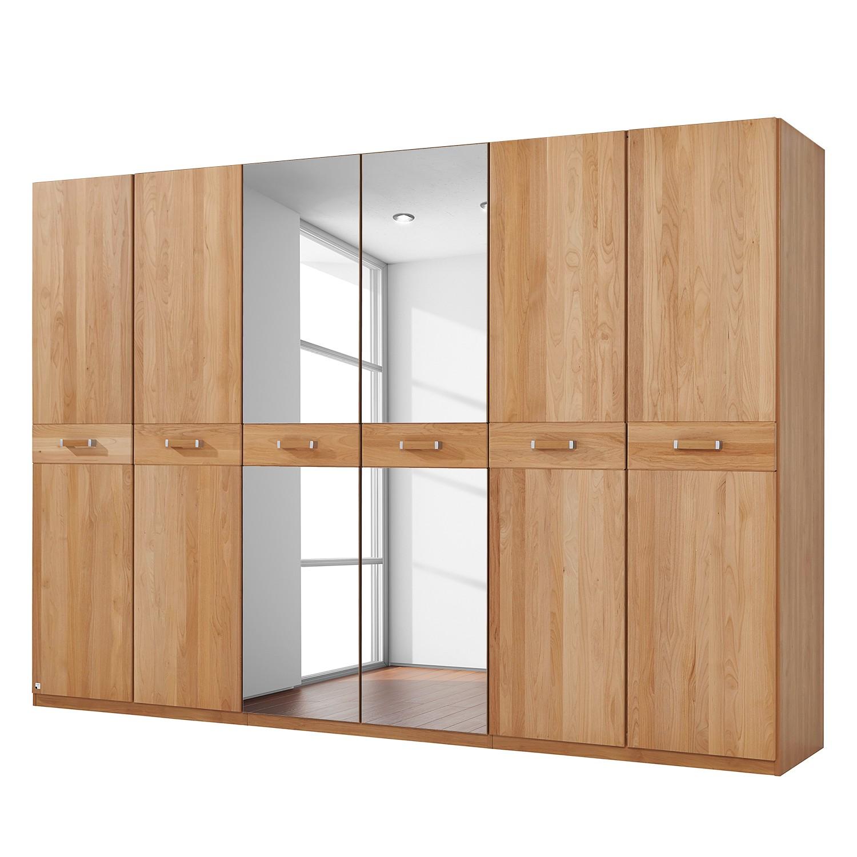 goedkoop Deels massieve draaideurkast Valerie elzenhout 282cm 6 deurs 197cm Zonder kroonlijst Rauch Steffen