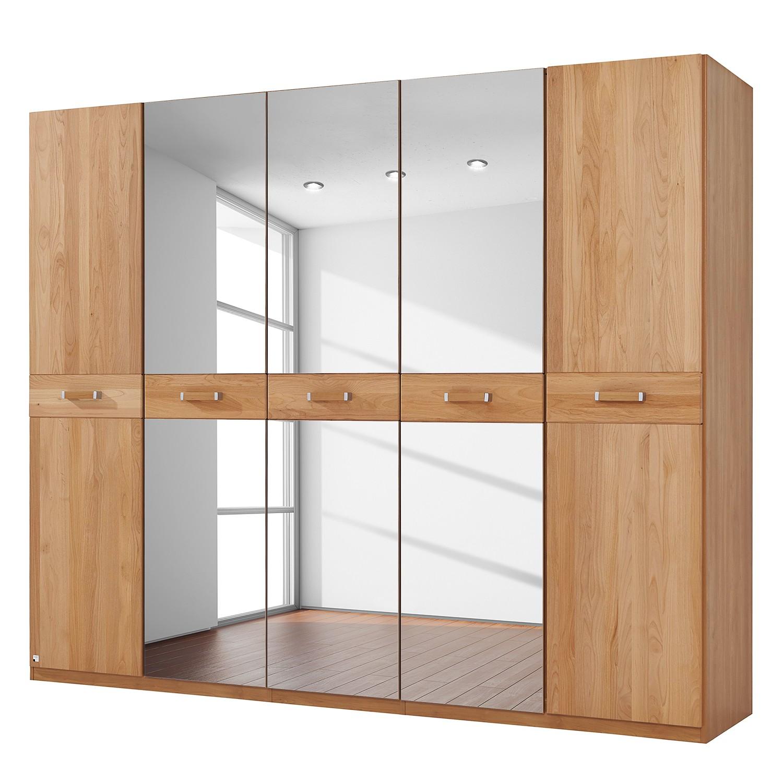 goedkoop Deels massieve draaideurkast Valerie elzenhout 235cm 5 deurs 214cm Zonder kroonlijst Rauch Steffen