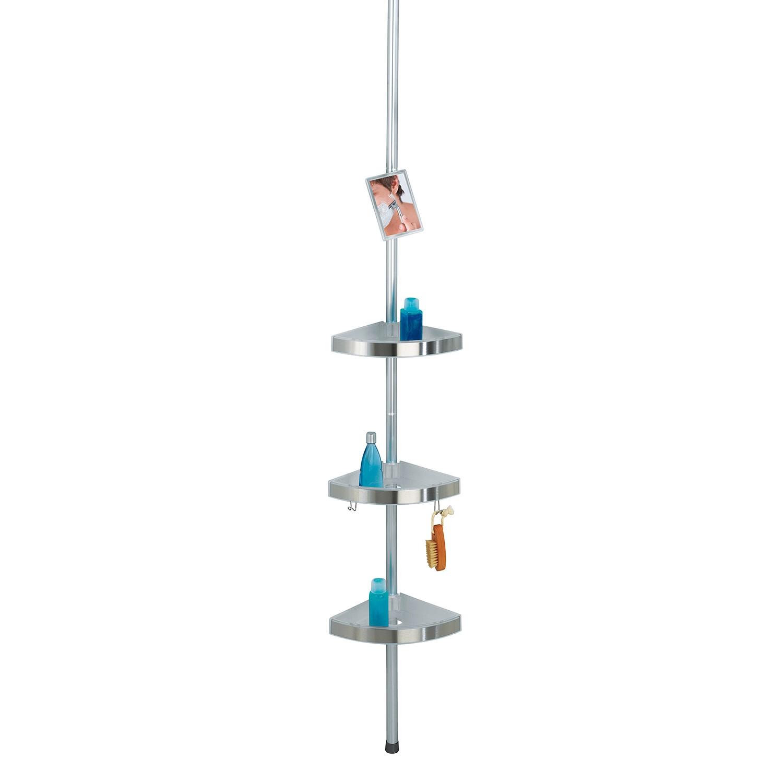 Duschregal Premium I - Aluminium / Kunststoff - Silber, Wenko
